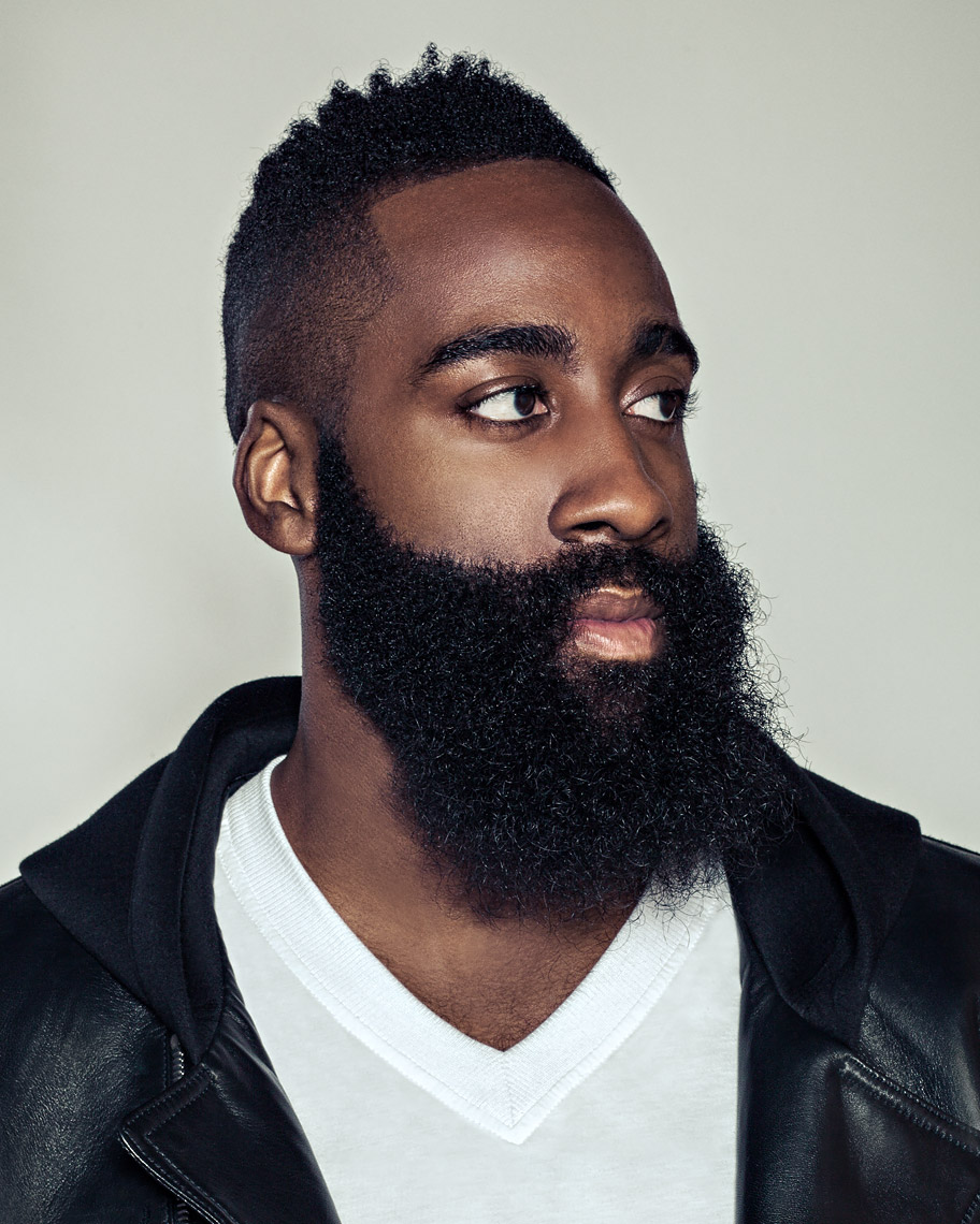 James Harden photographed by Scott Witter