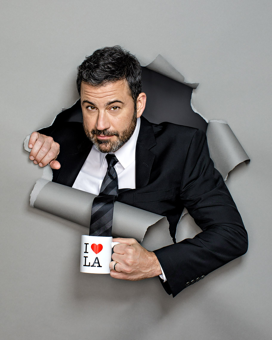 Jimmy Kimmel by Scott Witter for Adweek