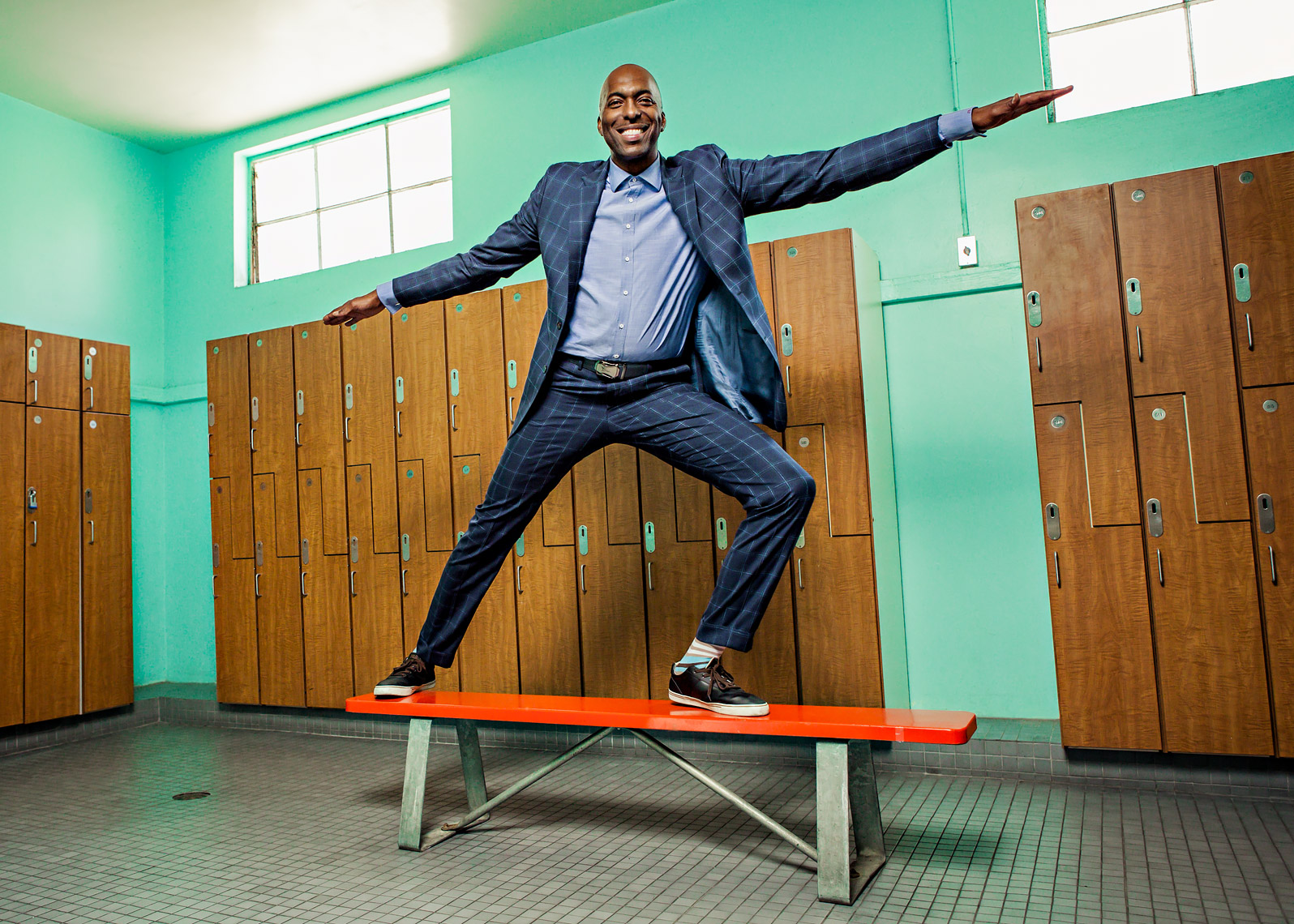 John Salley by Scott Witter for Cedars-Sinai