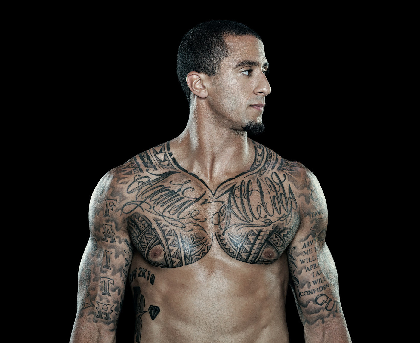 Colin Kaepernick photographed by Scott Witter